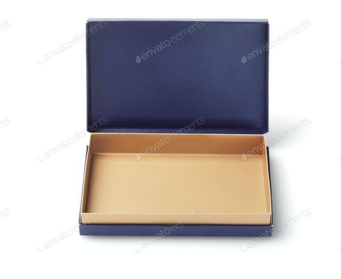 Empty Blue Box