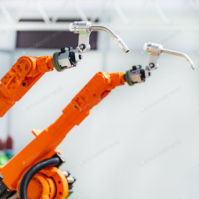Dual robotic arms, welding system, new technology