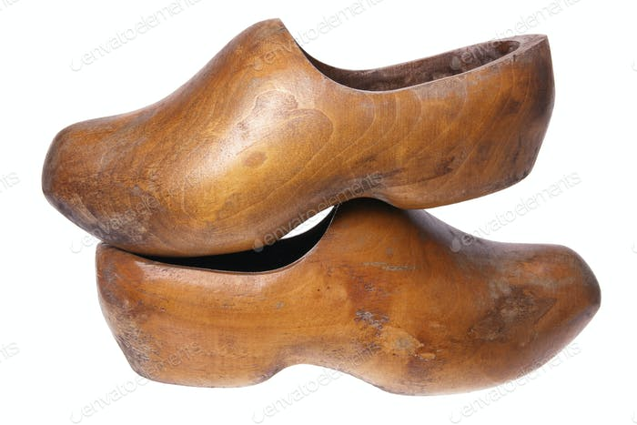 Wooden Dutch Clog