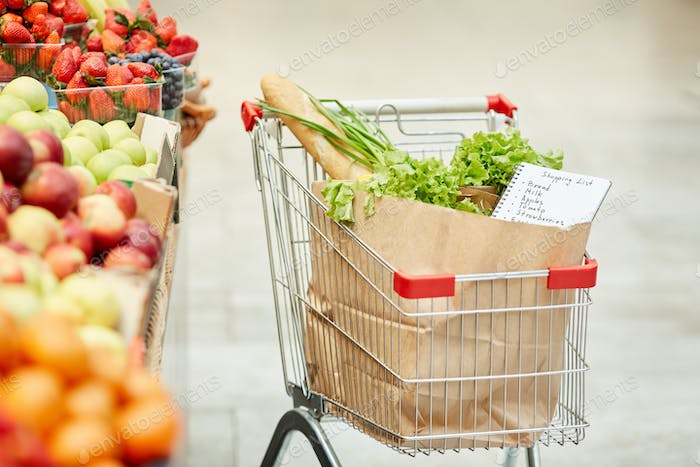 Shopping Cart Background