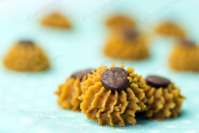 Coffee chocolate chip cookie