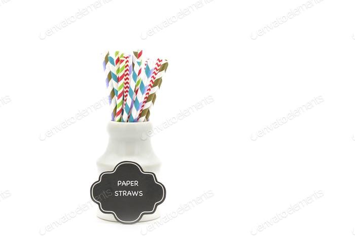 Straws and Sign