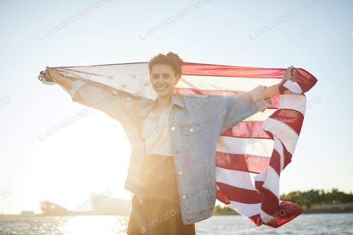 Celebrating national day in USA