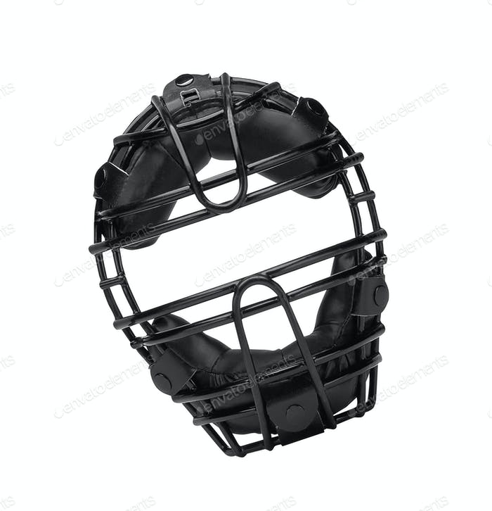 Thumbnail for Baseball mask isolated on white
