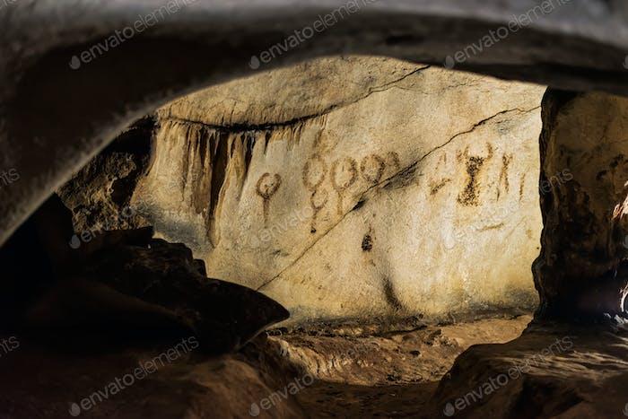 Alte Höhlenzeichnungen