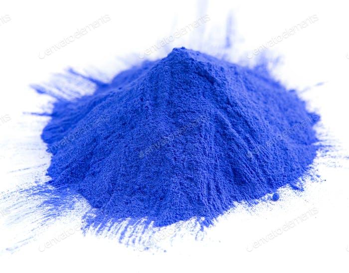 Coloración de alimentos en polvo de montón azul para Santo