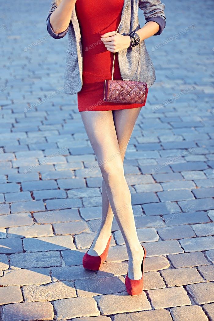 Mujer urbana de moda