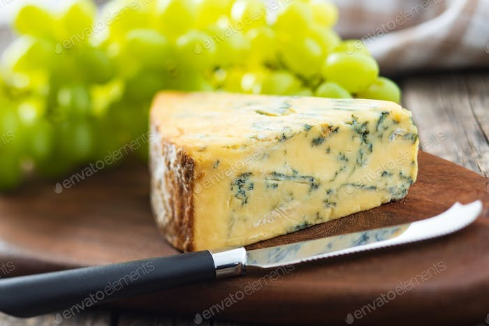 Tasty blue cheese.