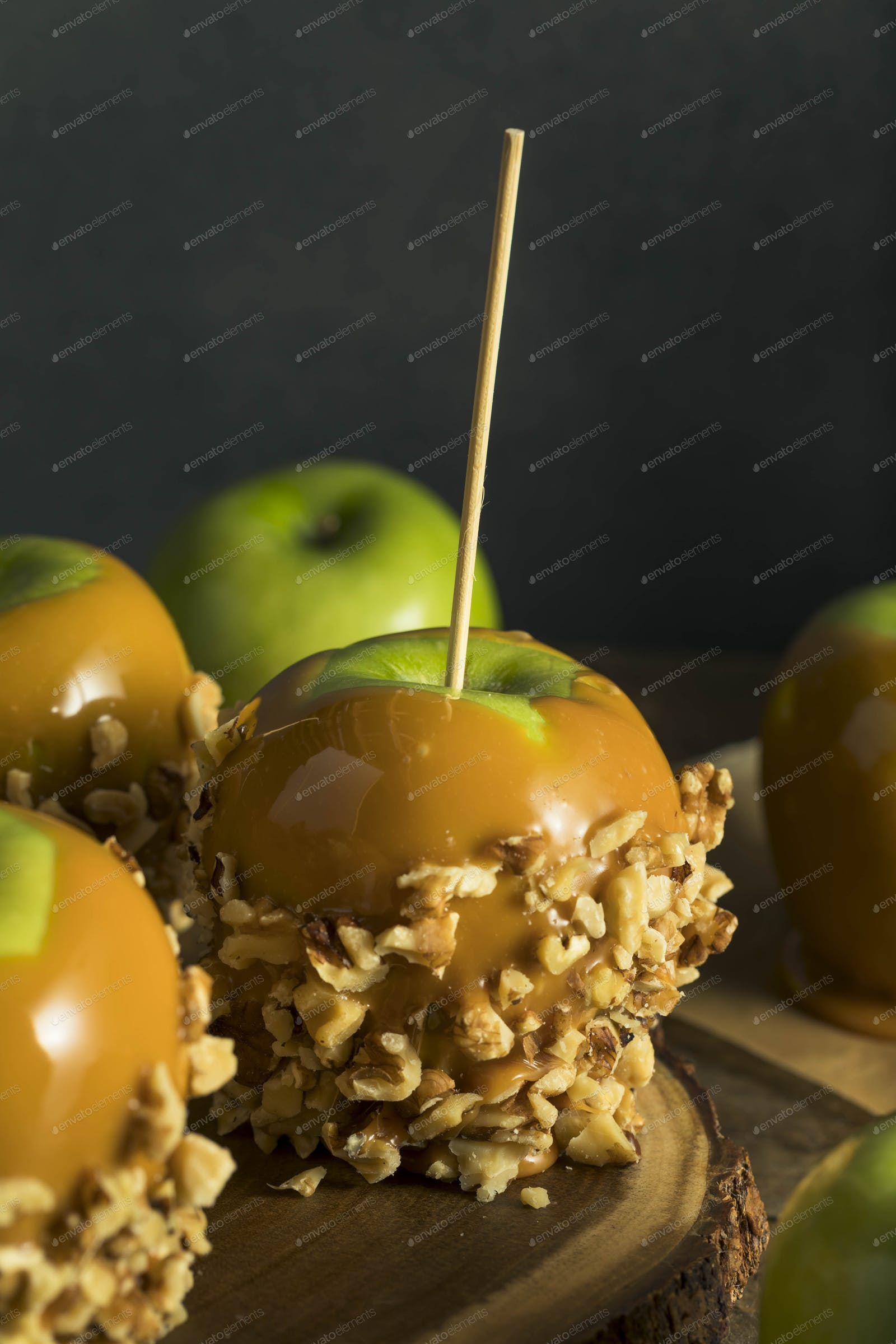 Homemade Organic Candy Taffy Apples photo by bhofack2 on