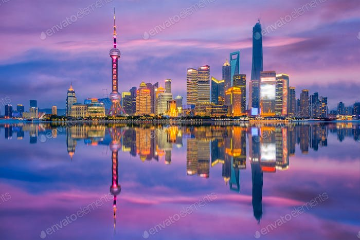 Shanghai China Cityscape