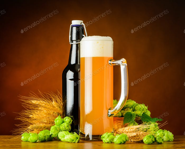 Wheat Beer and Brewing Ingredients