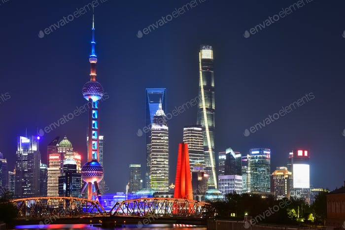 Thumbnail for shanghai in evening