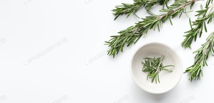 Mediterranean herbs concept