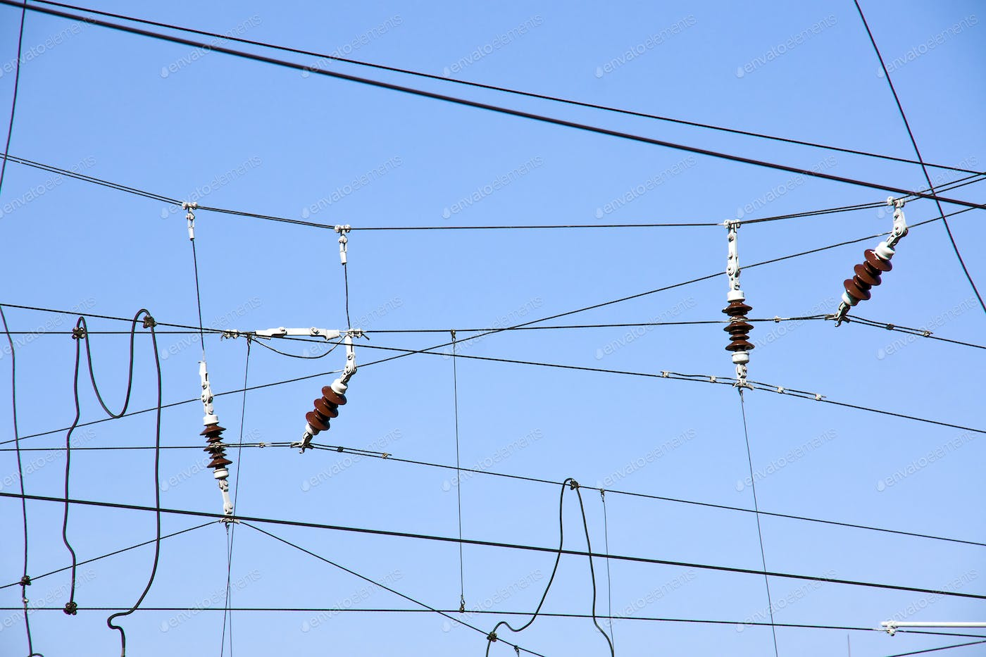 Overhead Contact Wires Photo By Elxeneize On Envato Elements Wiring A Shoebox House