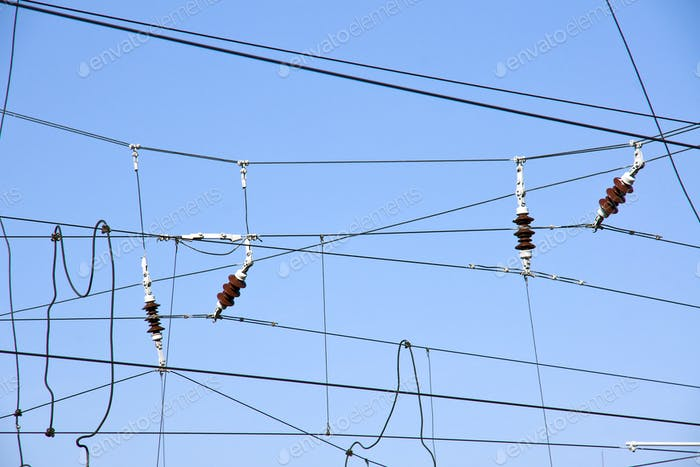 Overhead contact wires