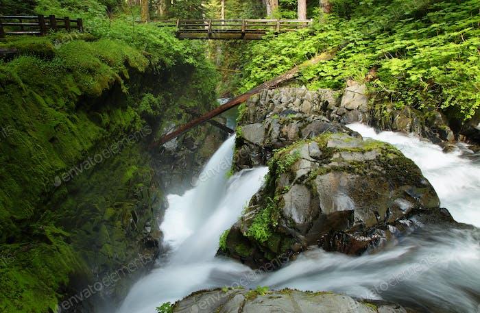 Sol Duc Falls, Washington, Verenigde Staten