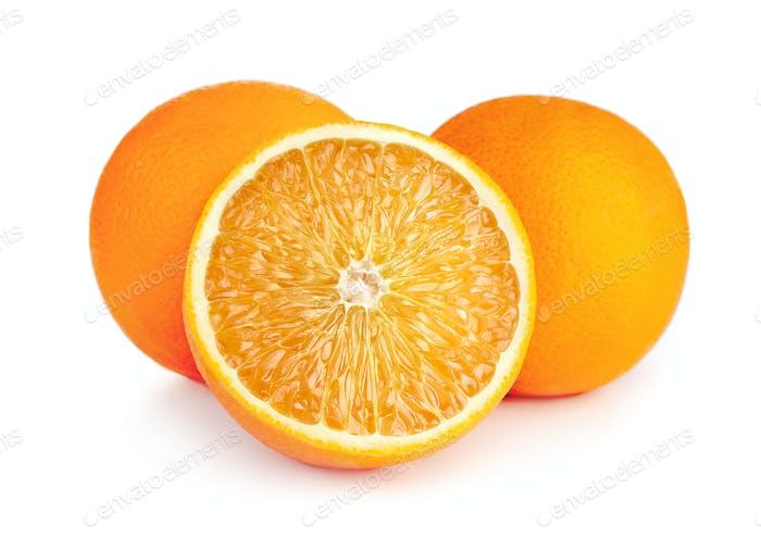 fresh ripe juicy orange