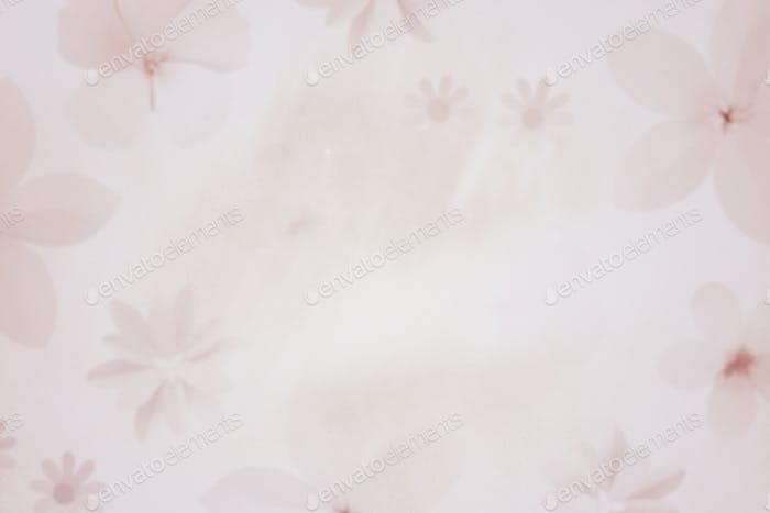 Pink floral background design resource