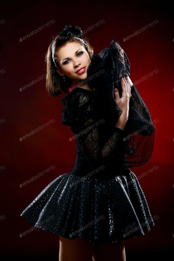 schöne Ballerina tanzen Balletttanz