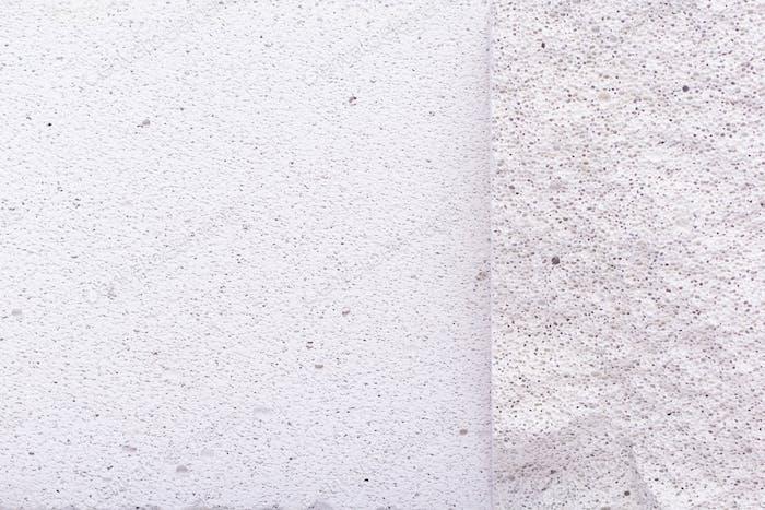 Aerated concrete block background. Lightweight concrete texture