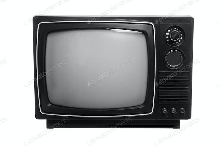 Retro-Tragbarer Fernseher