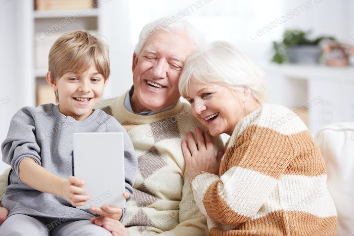 Grandparents and technology