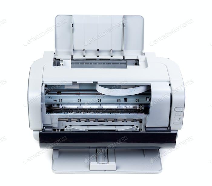 Open color inkjet printer