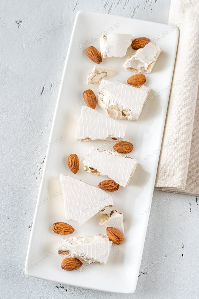 Turron -  European nougat confection