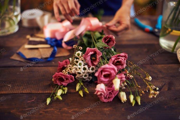 Bouquet designing
