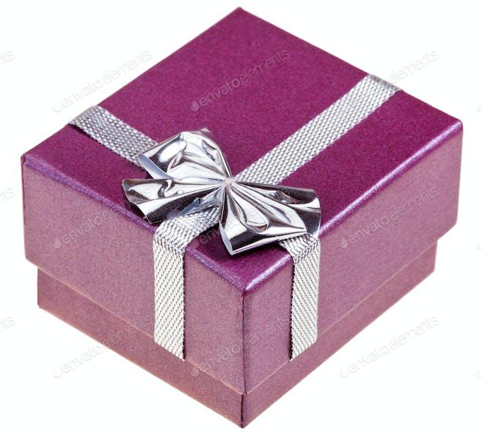 small magenta gift box