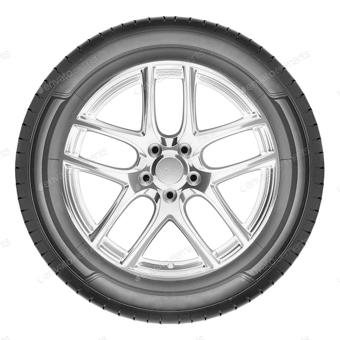 Modern automotive wheel
