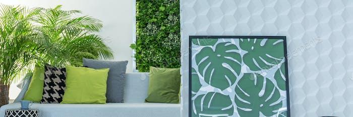 Botanic design of lounge