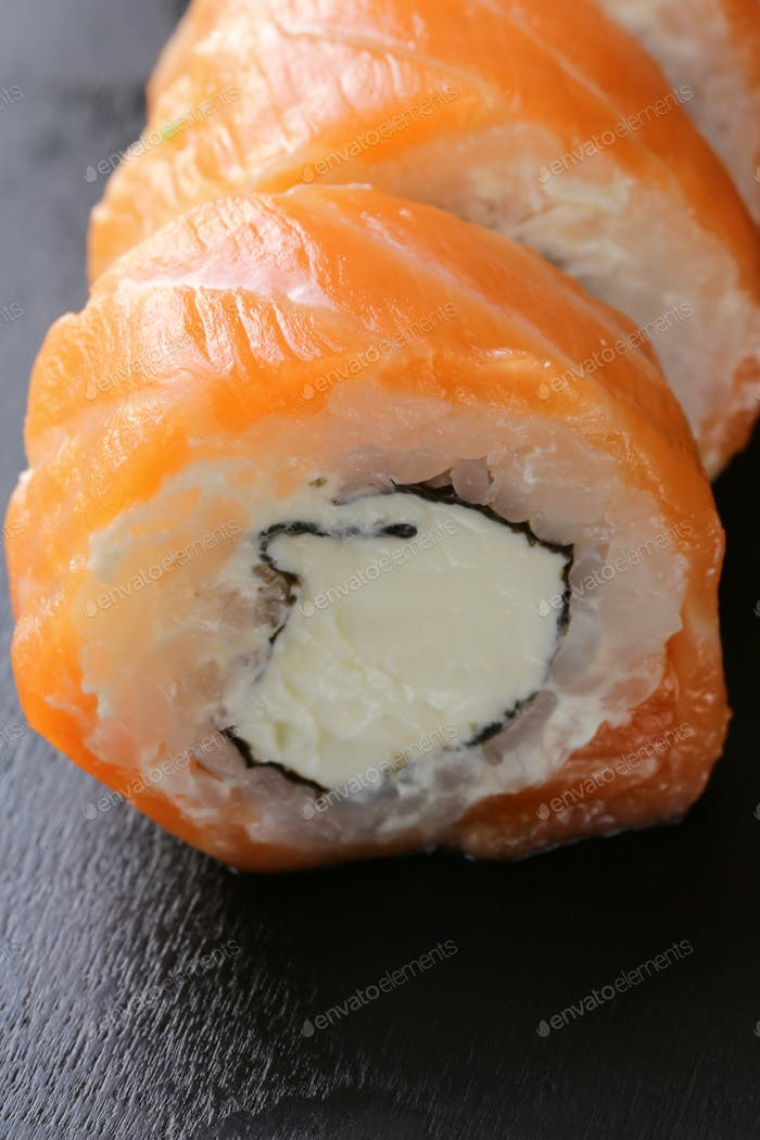 Philadelphia Rolls with Salmon