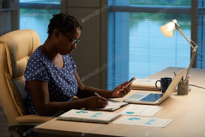 Writing new ideas