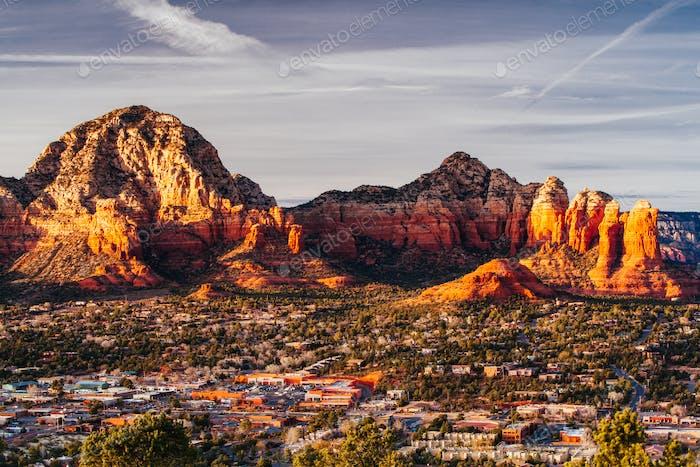 Sedona View Arizona USA