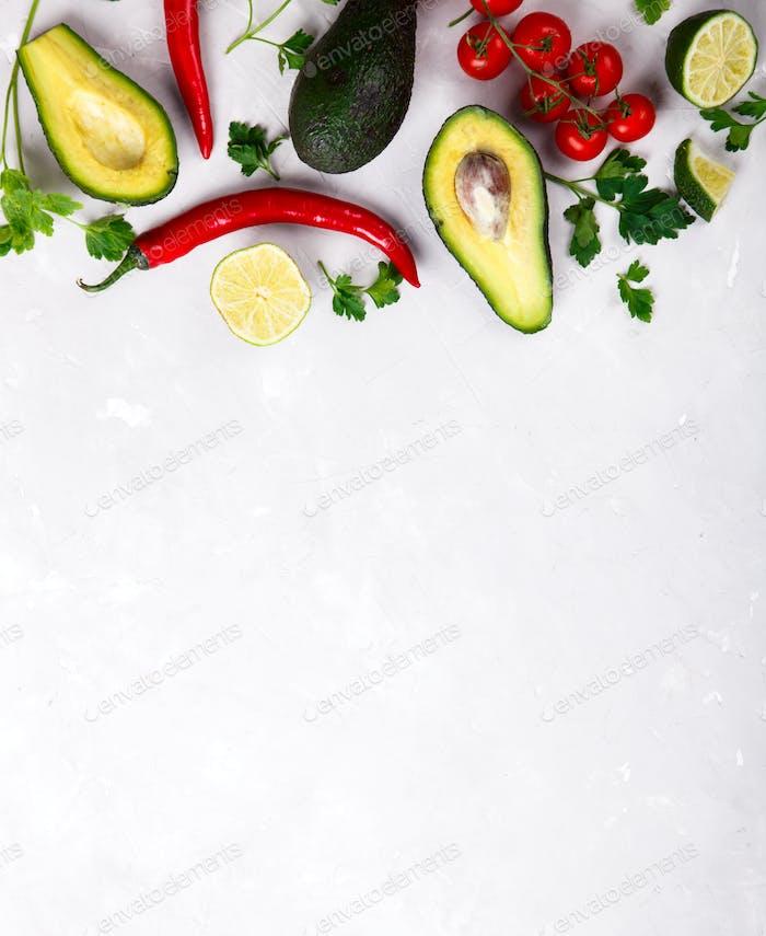 Konzept Lebensmittel oder gesunde Ernährung Konzept.Vegetarisch.