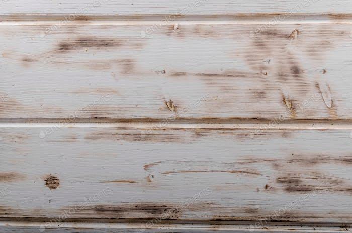 White wood board