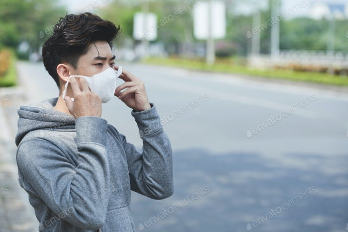 Maske gegen Viren