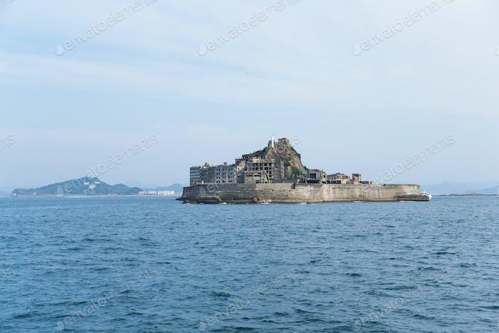 Hashima Island in Japan