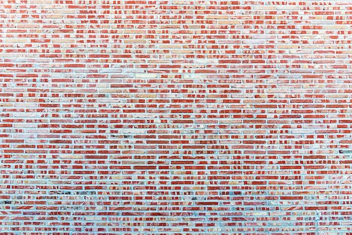 Hintergrund aus einer roten Mauerwand