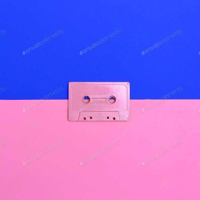 Audiocassette Vintage Minimal Design art