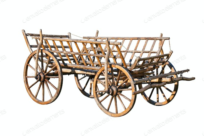 Old decorative cart