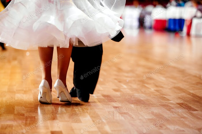 Beine Paar Tänzer