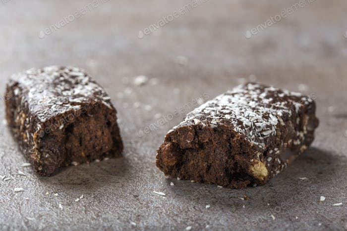 Chocolate Salami with Biscuits bar