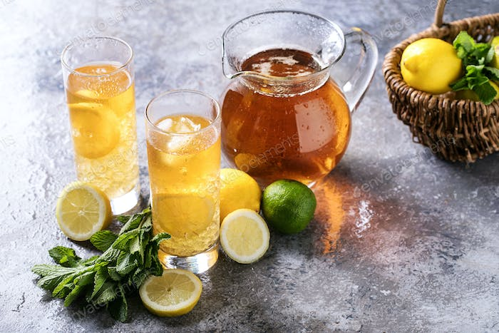 Home made ice tea