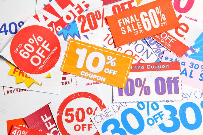 Group of coupon