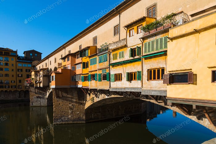 Ponte Vecchio Florenz, Italien