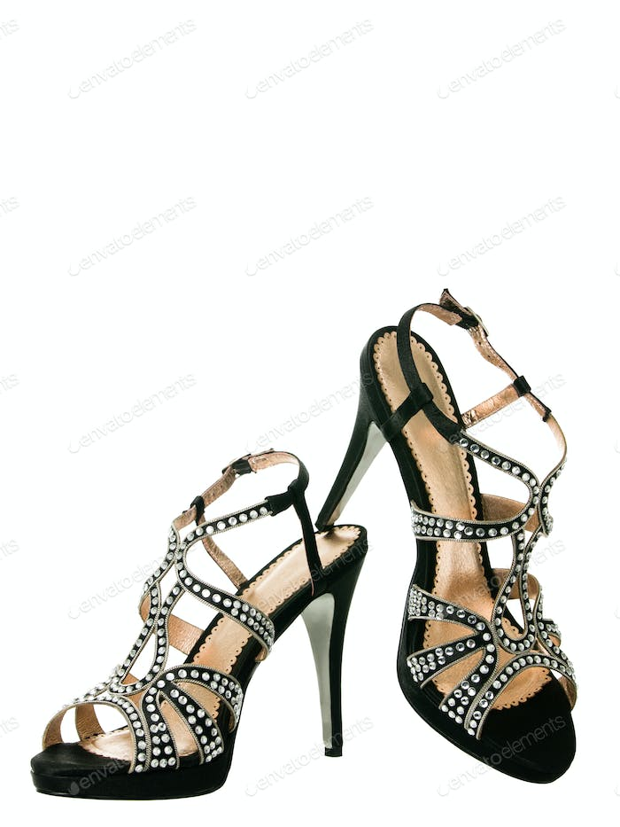 Sexy blingbling coktail women shoes