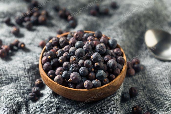 Raw Purple Organic Juniper Berries