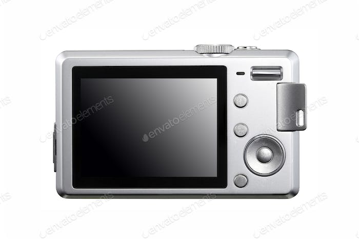 photocamera isolated on white background